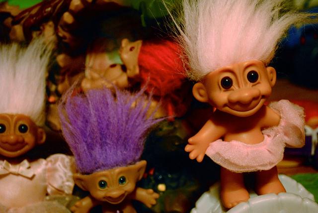 El problema de los trolls